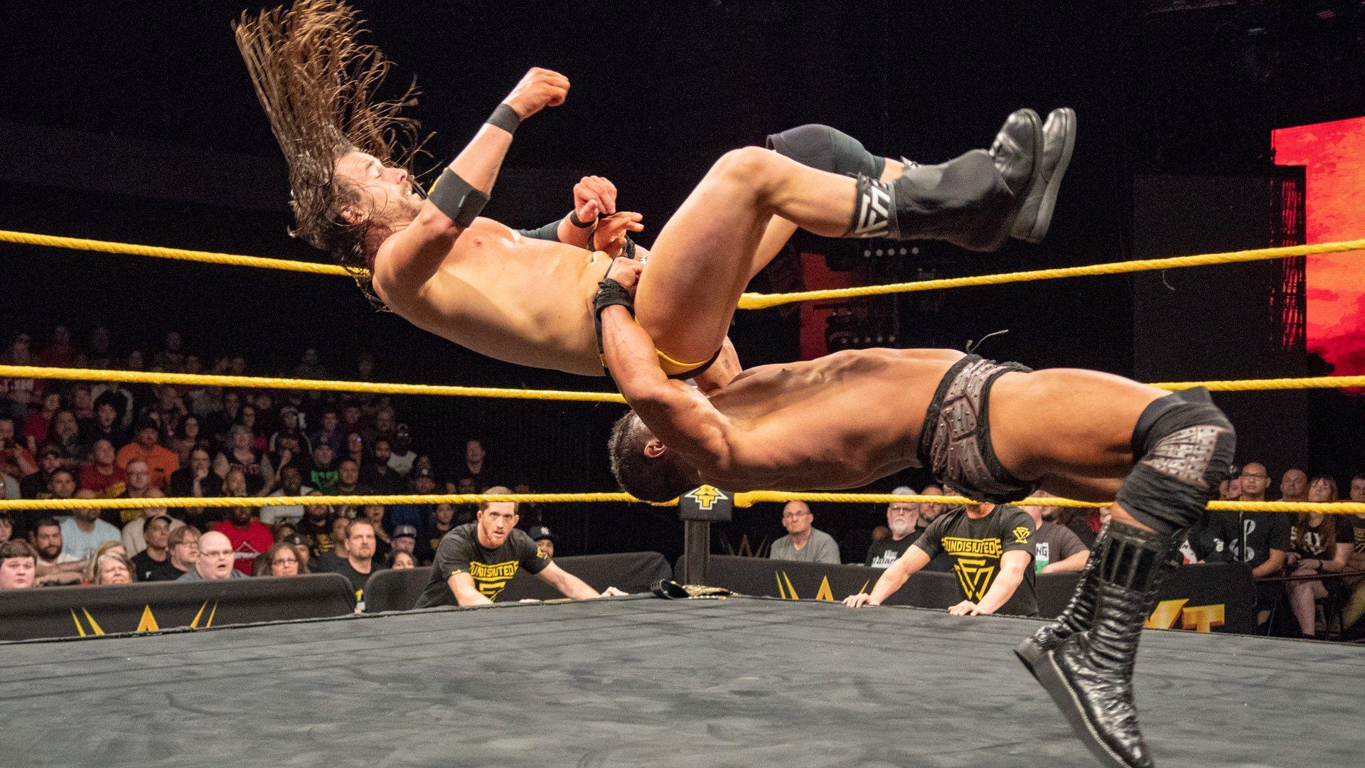 EC3 vs. Adam Cole: WWE NXT, 9 Janvier 2019