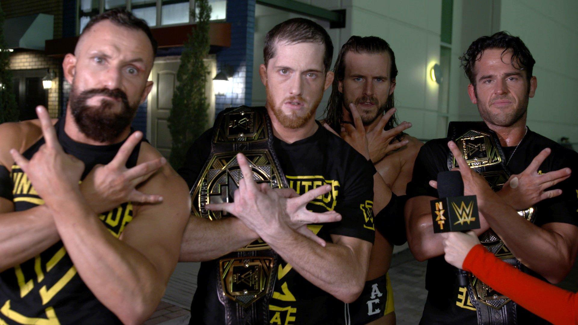 Undisputed ERA réagit à l'énorme annonce pour le Match pour les Titres par Équipes NXT: Exclusivité WWE.fr, 9 Janvier 2019