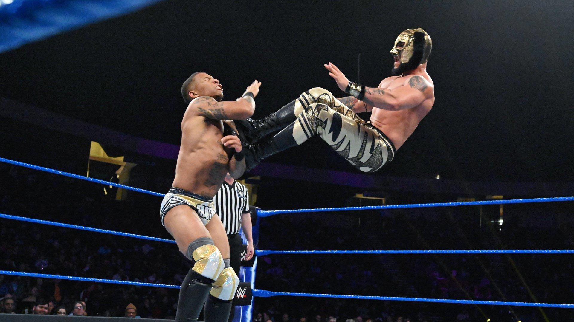 Lince Dorado vs. Lio Rush: WWE 205 Live, 15 Janvier 2019