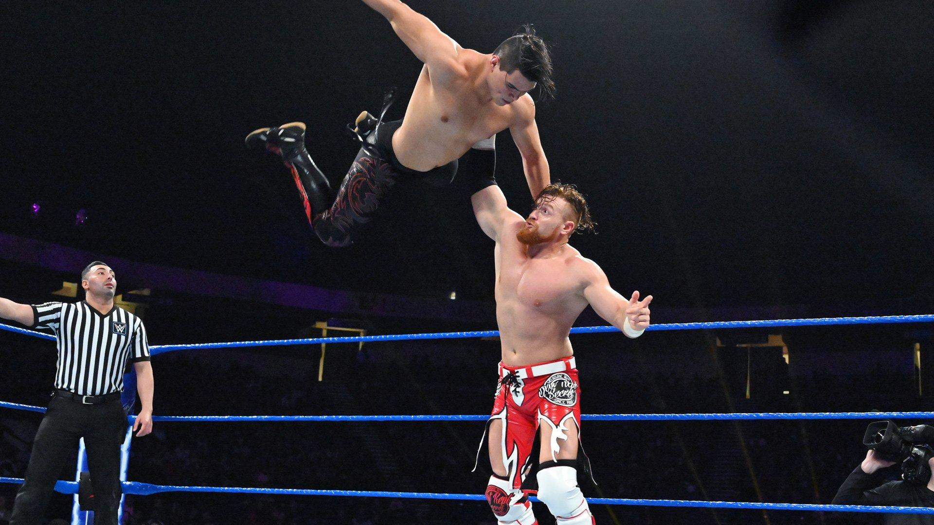 Humberto Carrillo vs. Buddy Murphy: WWE 205 Live, 15 Janvier 2019