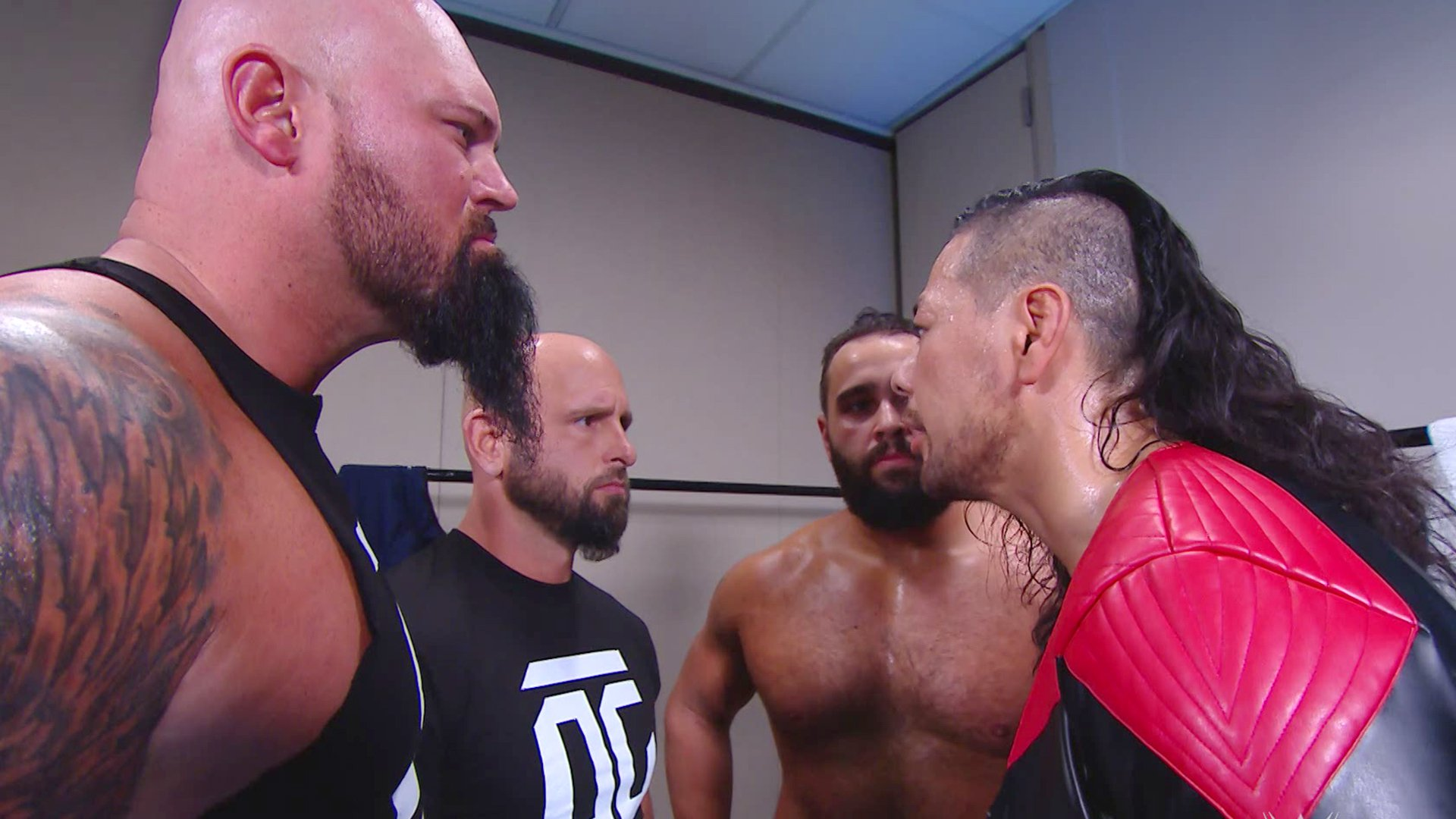 Gallows & Anderson appellent Rusev & Nakamura: SmackDown LIVE, 29 Jan 2019