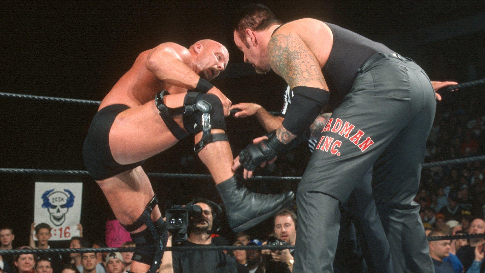 "Image result for WWE Backlash 2002 The Undertaker vs ""Stone Cold"" Steve Austin"