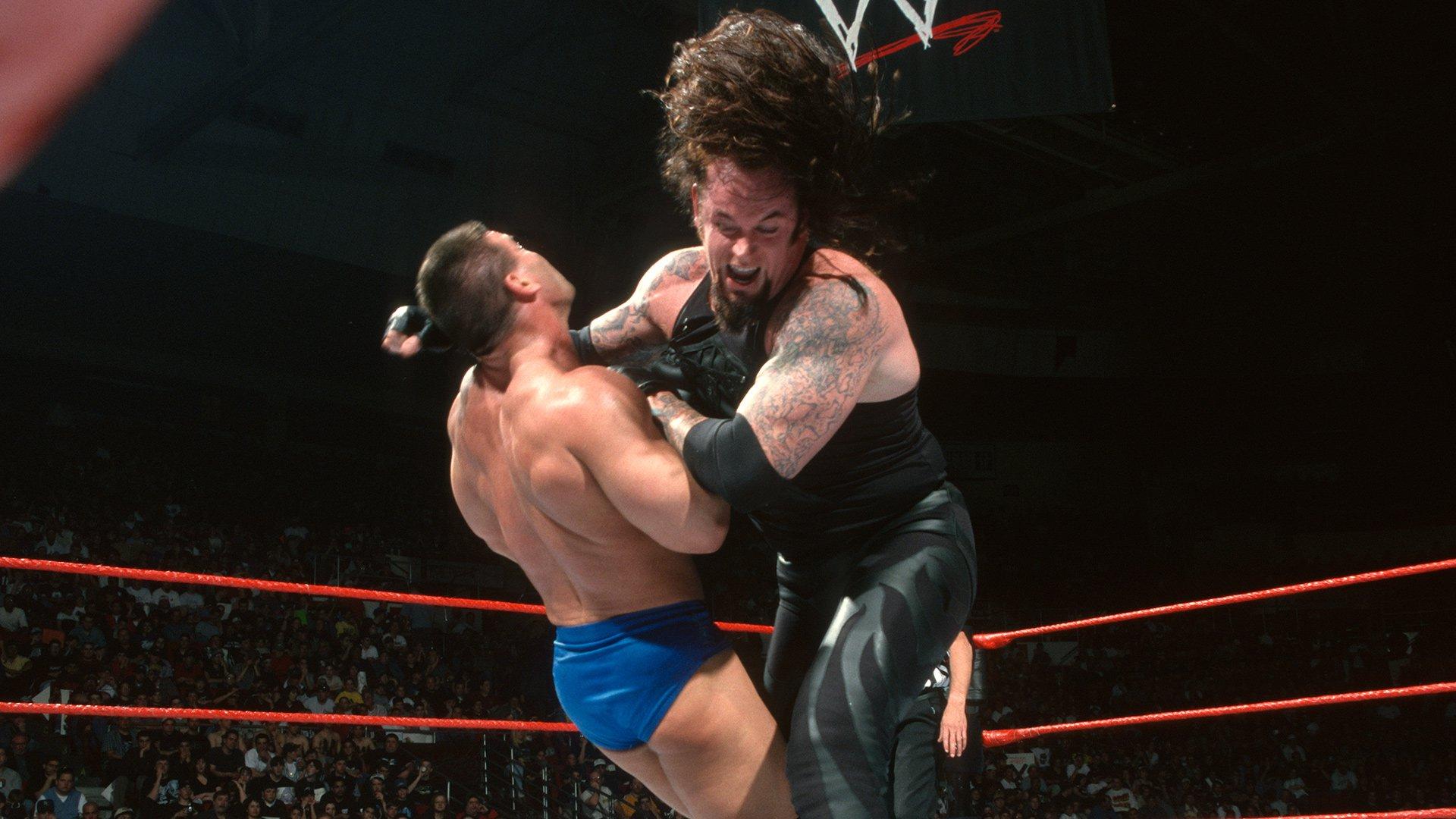 Image result for backlash 1999 Ken Shamrock vs The Undertaker