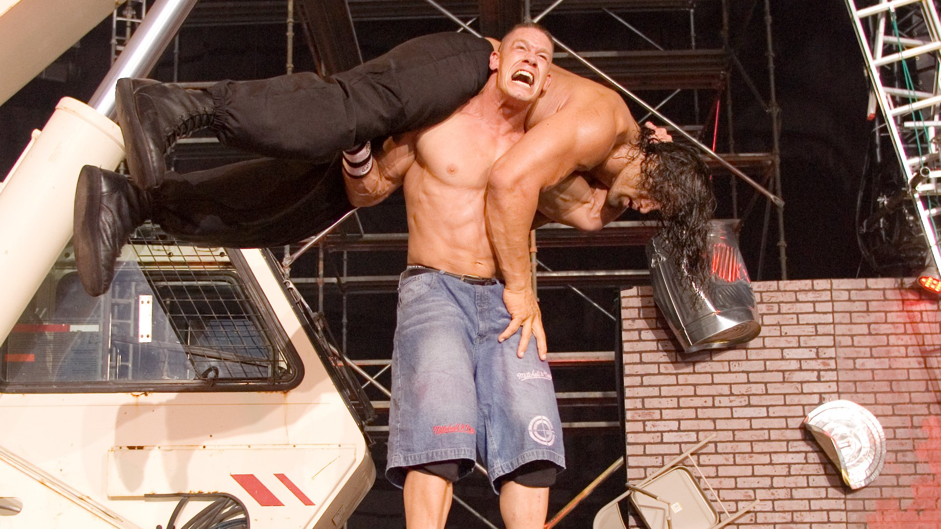23e04af17a John Cena vs. The Great Khali: One Night Stand 2007 - Falls Count Anywhere  Match | WWE