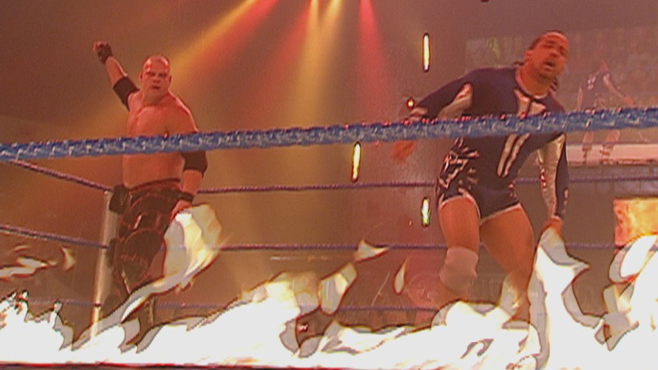 Image result for armageddon 2006 Kane vs MVP
