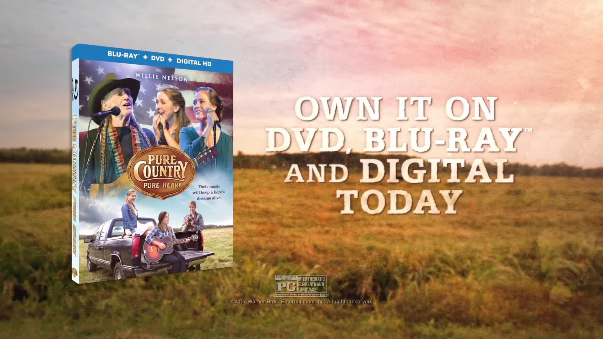 """WWE Studios' """"Pure Country: Pure Heart"""" is available now on Blu-ray, DVD and Digital HD. 