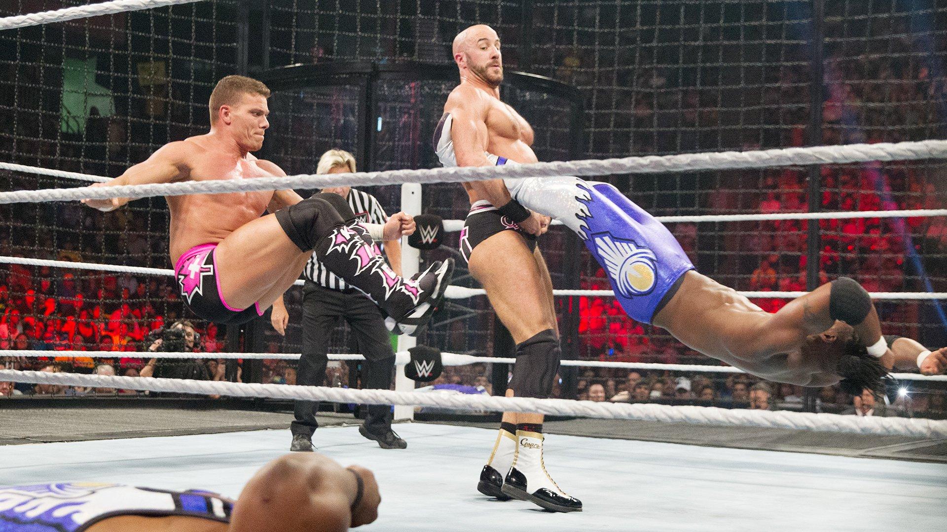 Match Elimination Chamber pour les Titres par Équipes WWE: WWE Elimination Chamber 2015 (Match Intégral - Exclusivité WWE Network)