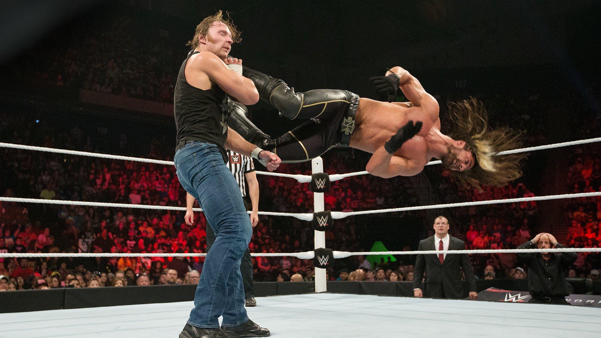 Seth Rollins vs. Dean Ambrose - Match pour le Titre WWE World Heavyweight: WWE Elimination Chamber 2015 (Match Intégral - Exclusivité WWE Network)