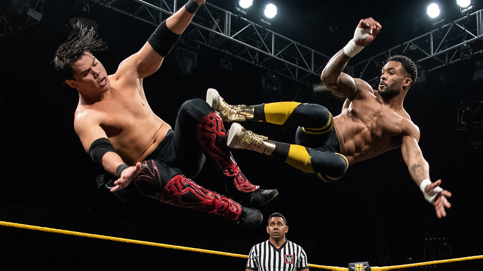 Street Profits vs. Humberto Carrillo & Stacey Ervin Jr.: WWE NXT, Feb. 13, 2019