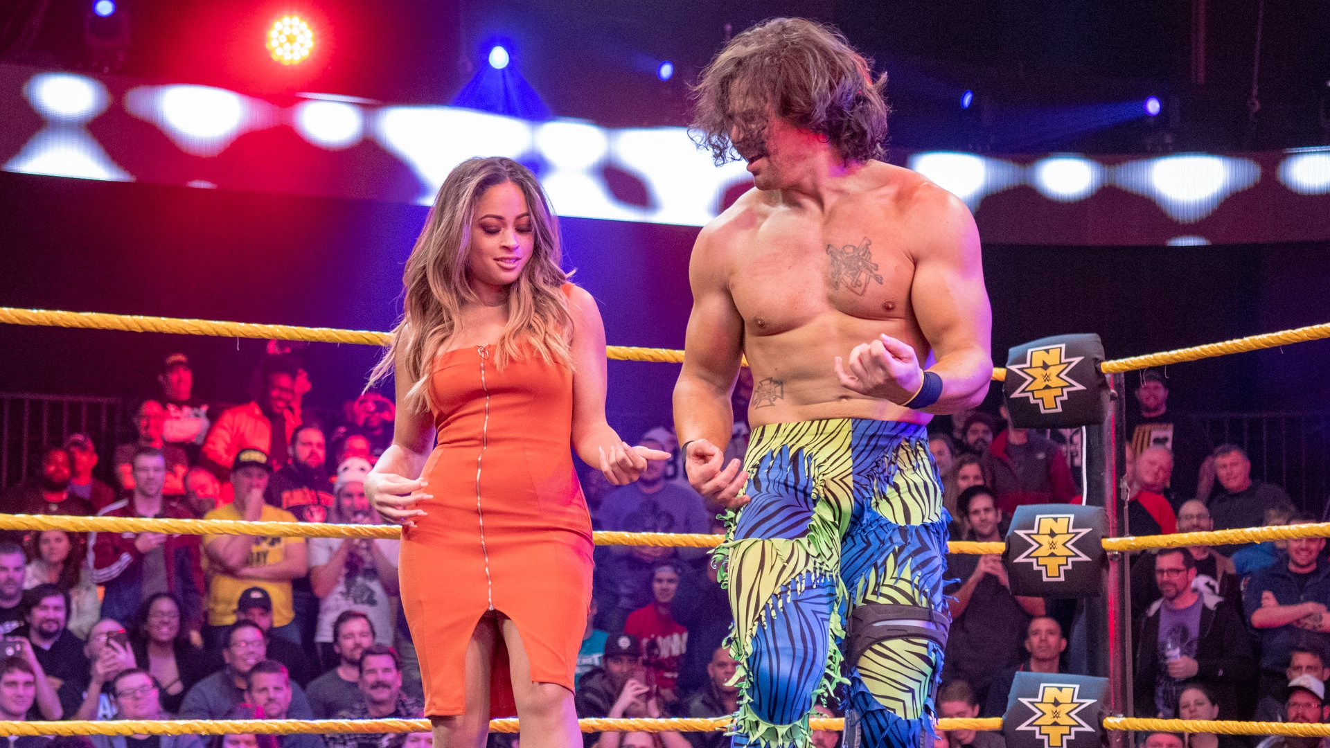 Kayla Braxton rejoint Eric Bugenhagen dans un après show épique: Exclusivité WWE.fr, 6 Fev 2019