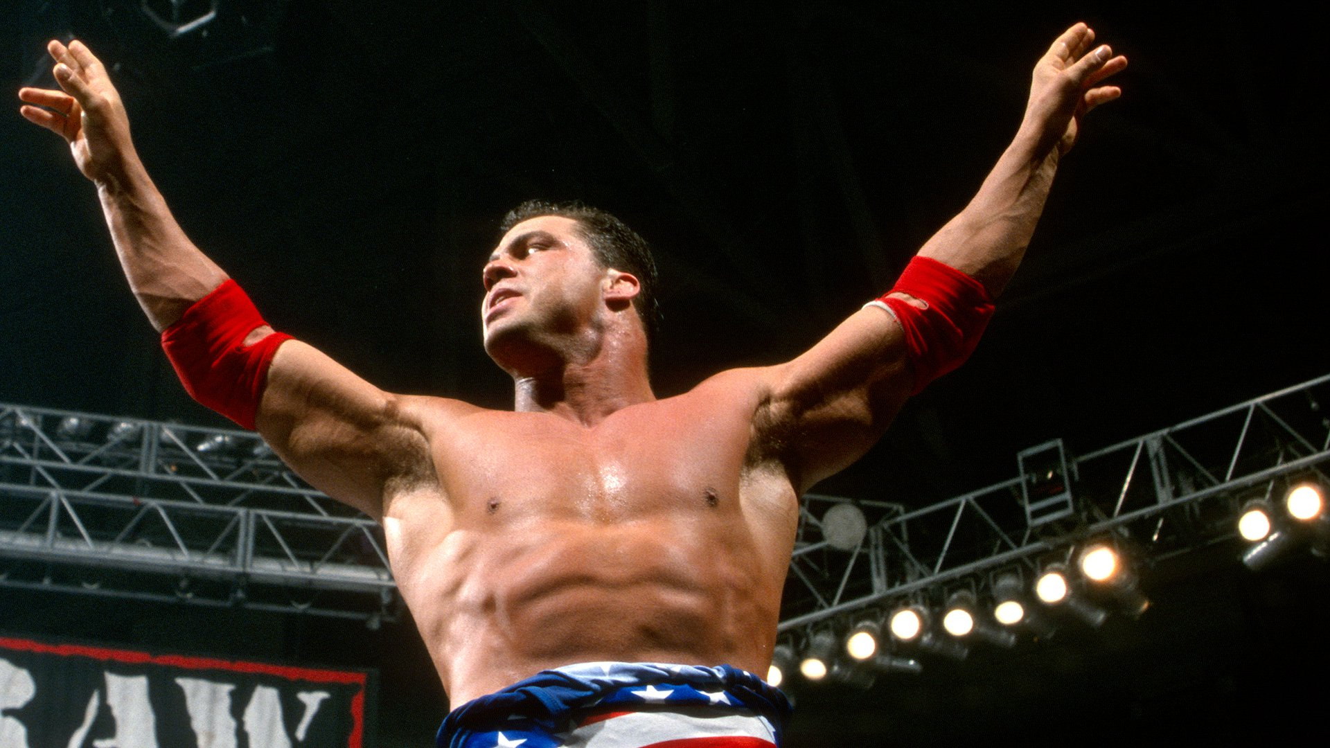 Kurt Angle & Steve Blackman vs. The Hardy Boyz: Raw, 6 Dec. 1999