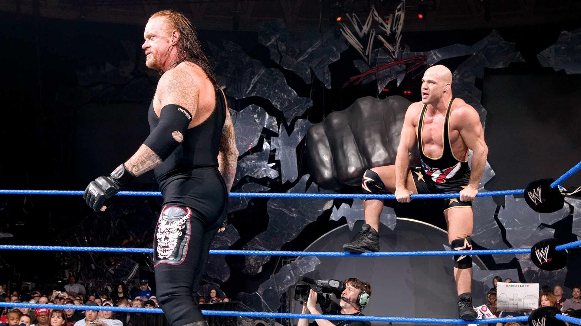 Kurt Angle & The Undertaker vs. Mark Henry & MNM: SmackDown, 17 Fev, 2006