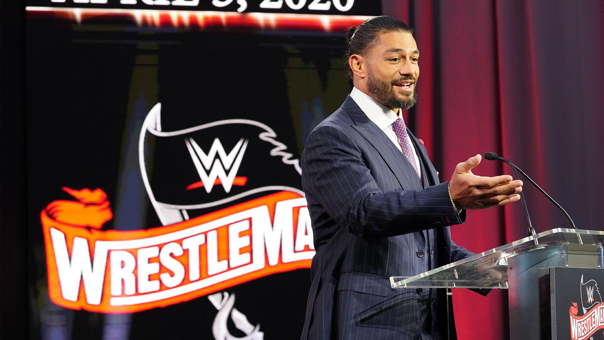 Les détails de WrestleMania 36: WWE Now
