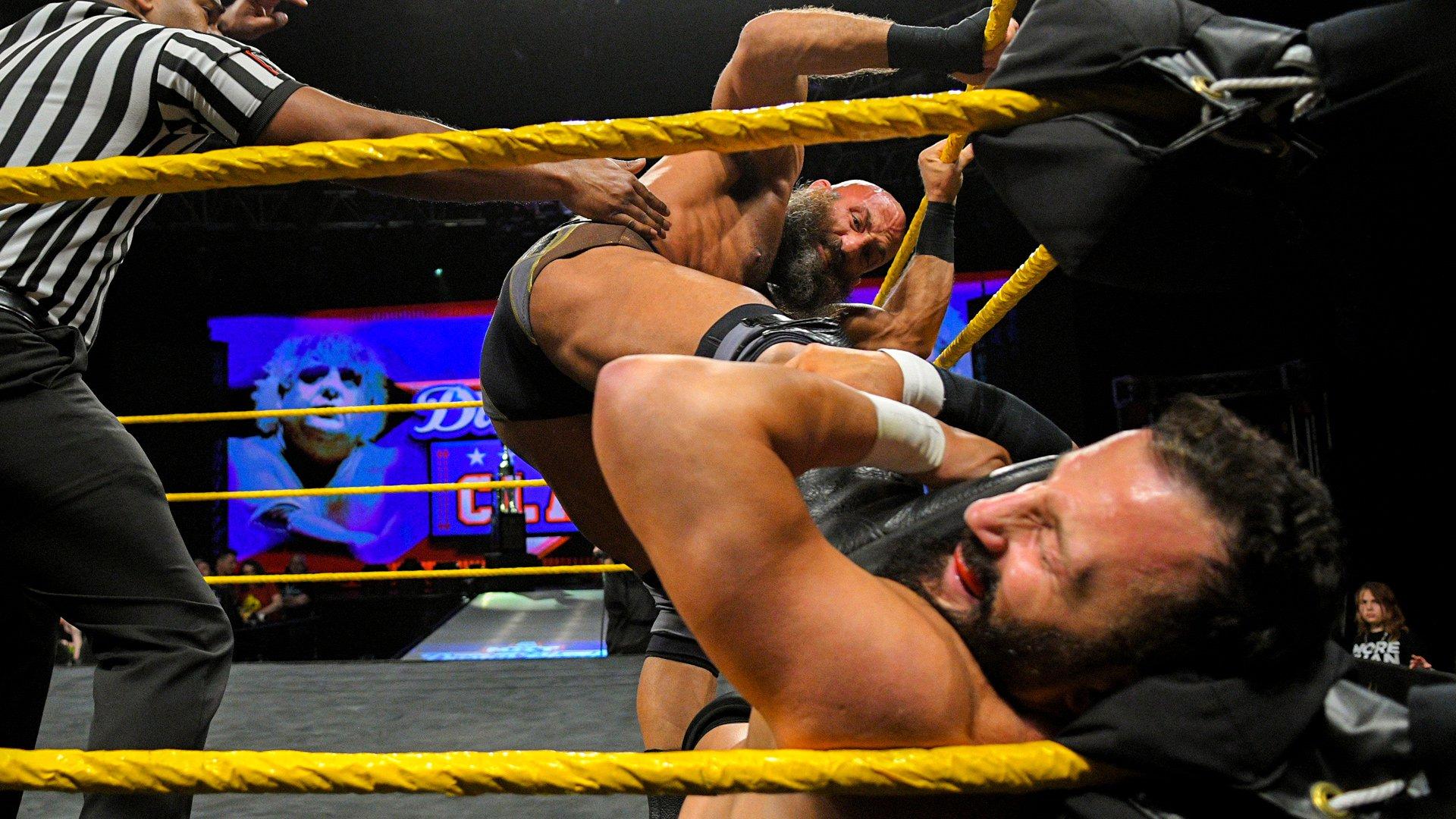 #DIY vs. Undisputed ERA: Premier Tour du Dusty Rhodes Tag Team Classic First-Round: WWE NXT, 6 Mars 2019