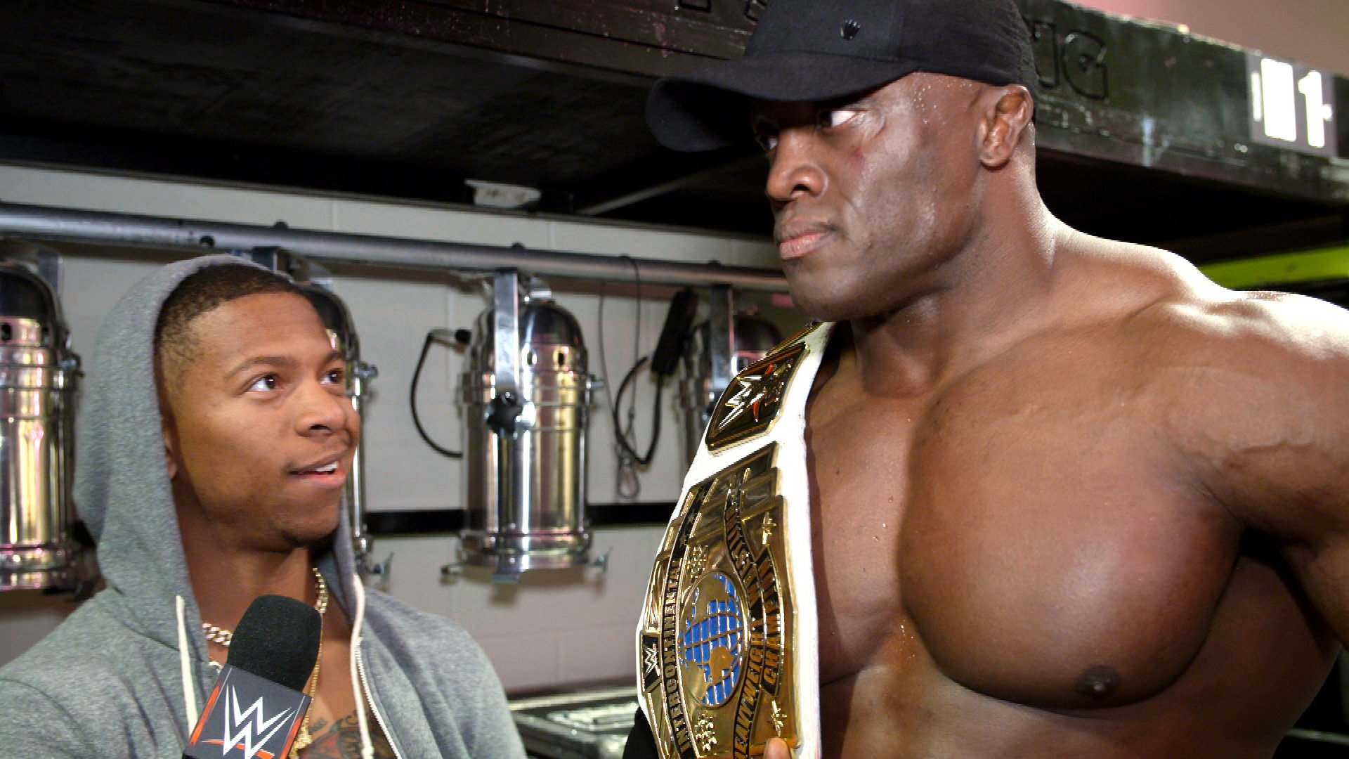 Bobby Lashley And Lio Rush Are Golden Wwecom Exclusive March 11