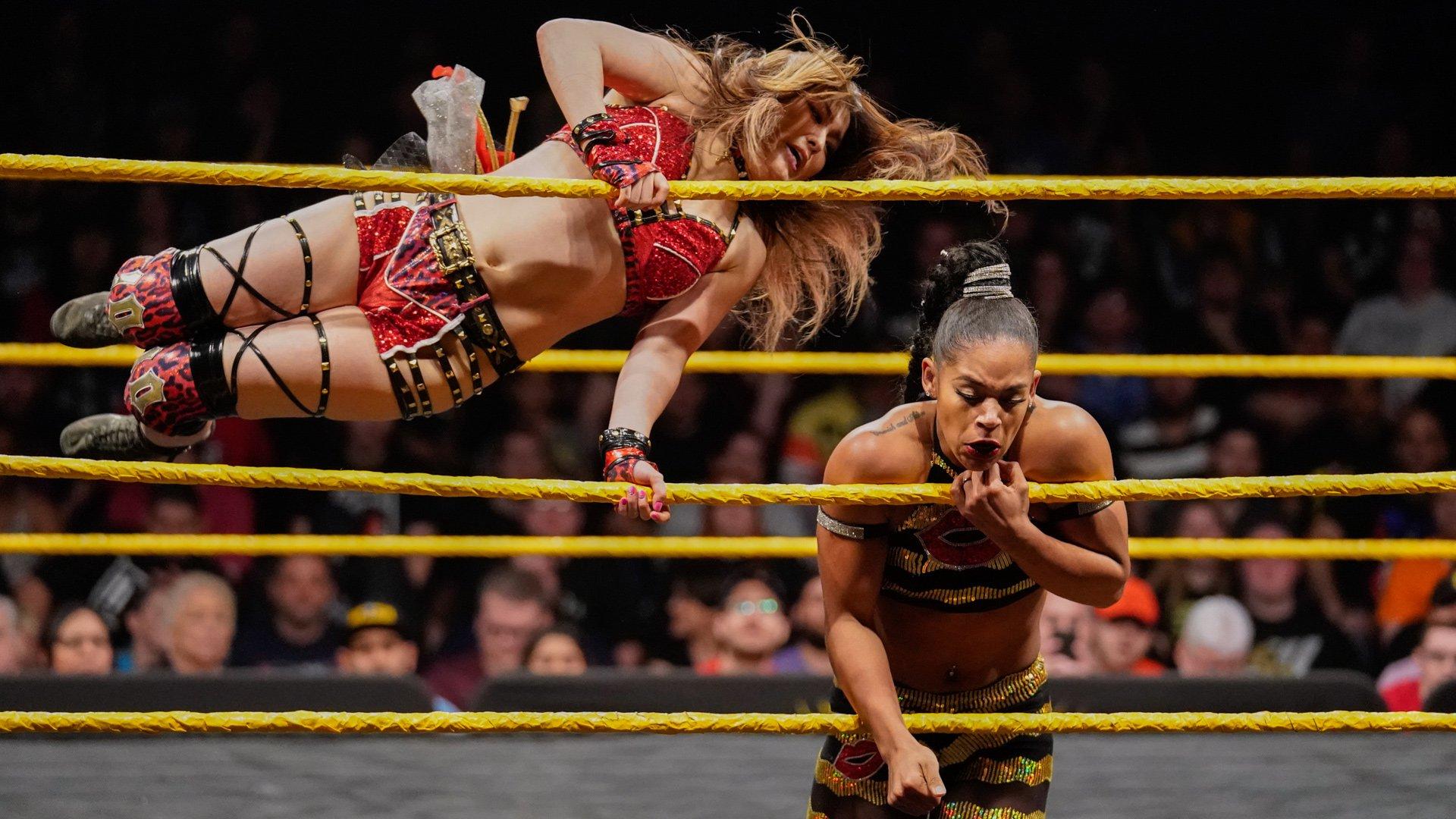 Io Shirai vs. Bianca Belair: WWE NXT, 13 Mars 2019