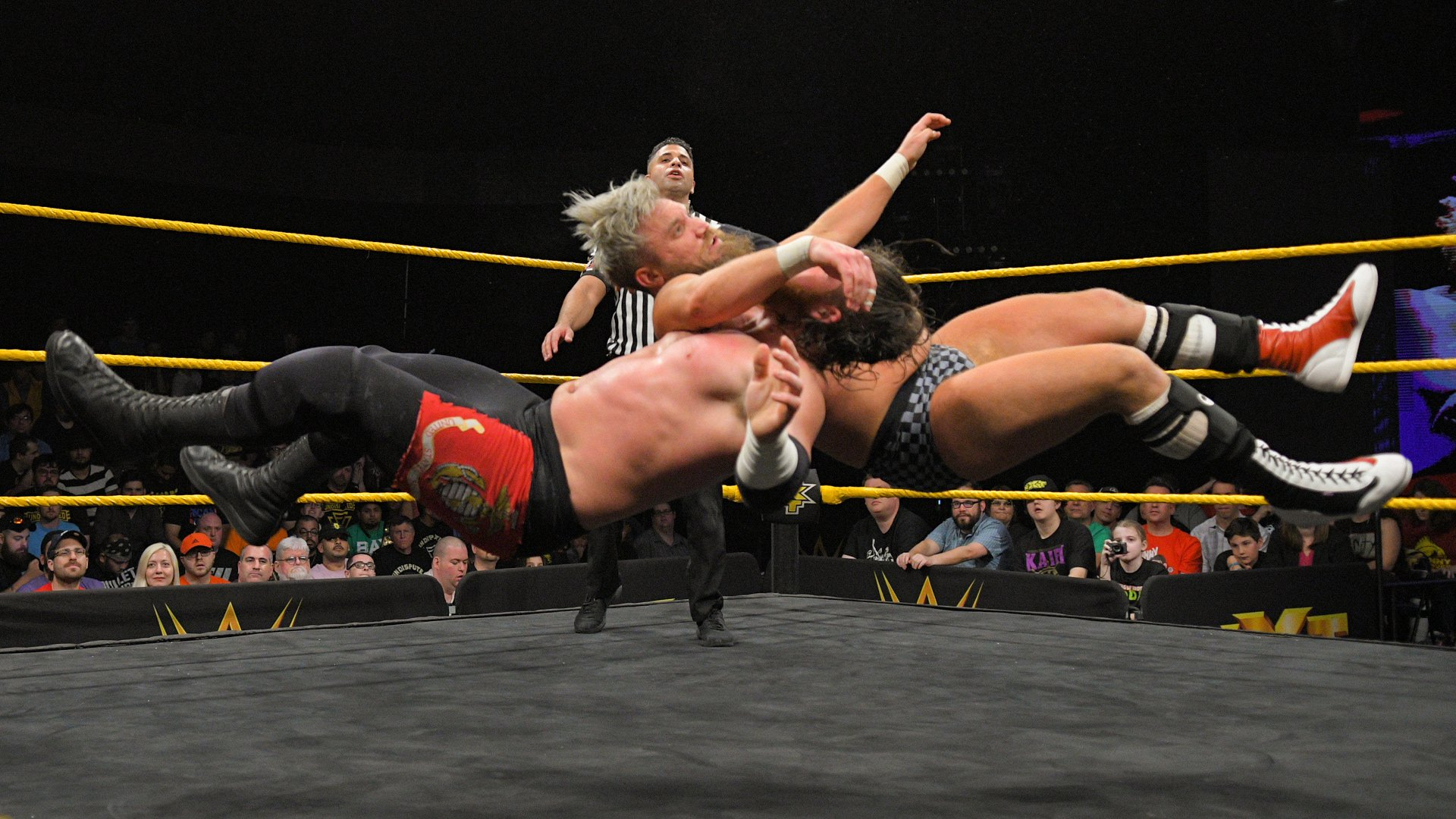 Moustache Mountain vs. Forgotten Sons - Demi-Finale du Dusty Rhodes Tag Team Classic: WWE NXT, 13 Mars 2019
