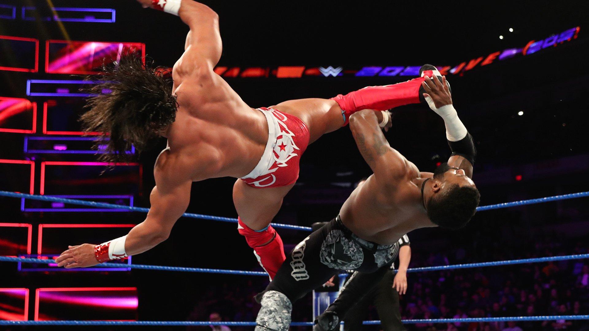Cedric Alexander vs. Tony Nese - Finale du Tournoi pour le Championnat Cruiserweight: WWE 205 Live, 19 Mars 2019