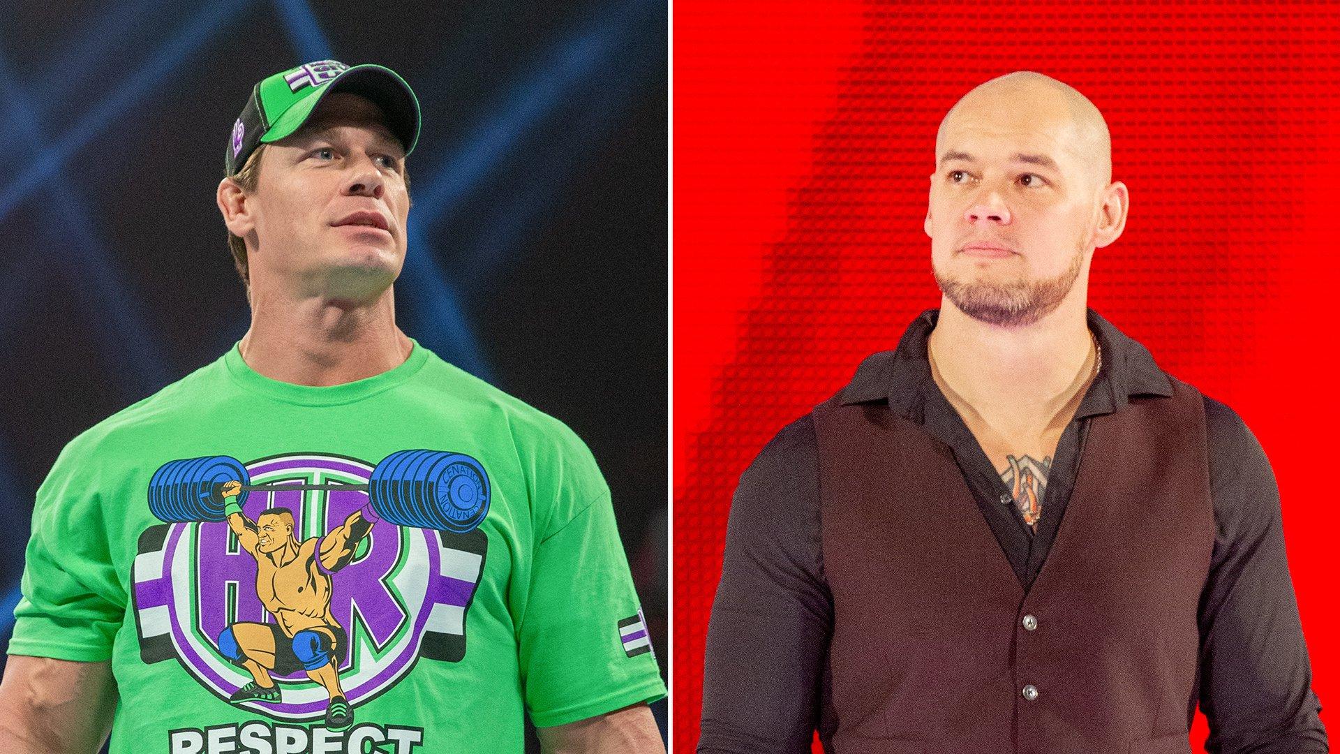 1399f353f John Cena calls Baron Corbin a dumpster fire after Kurt Angle's  WrestleMania reveal: WWE Now