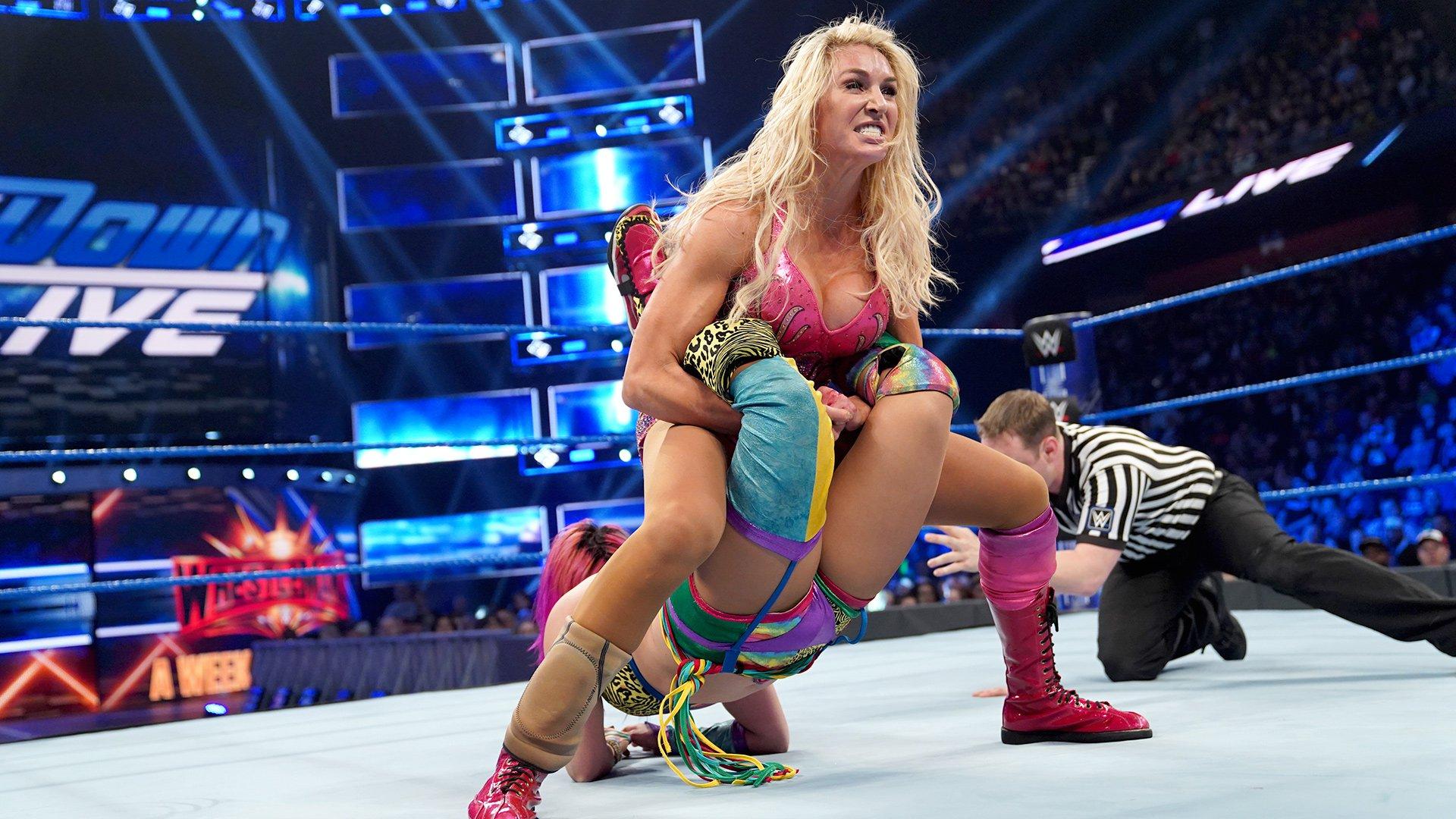Asuka vs. Charlotte Flair - Match pour le Titre Femme de SmackDown: SmackDown LIVE, Match Gauntlet Partie 5: SmackDown LIVE, 26 Mars 2019