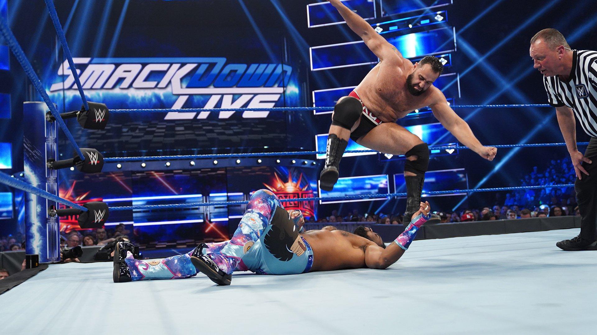 The New Day vs. Rusev & Shinsuke Nakamura - Gauntlet Match Part 2: SmackDown LIVE, March 26, 2019