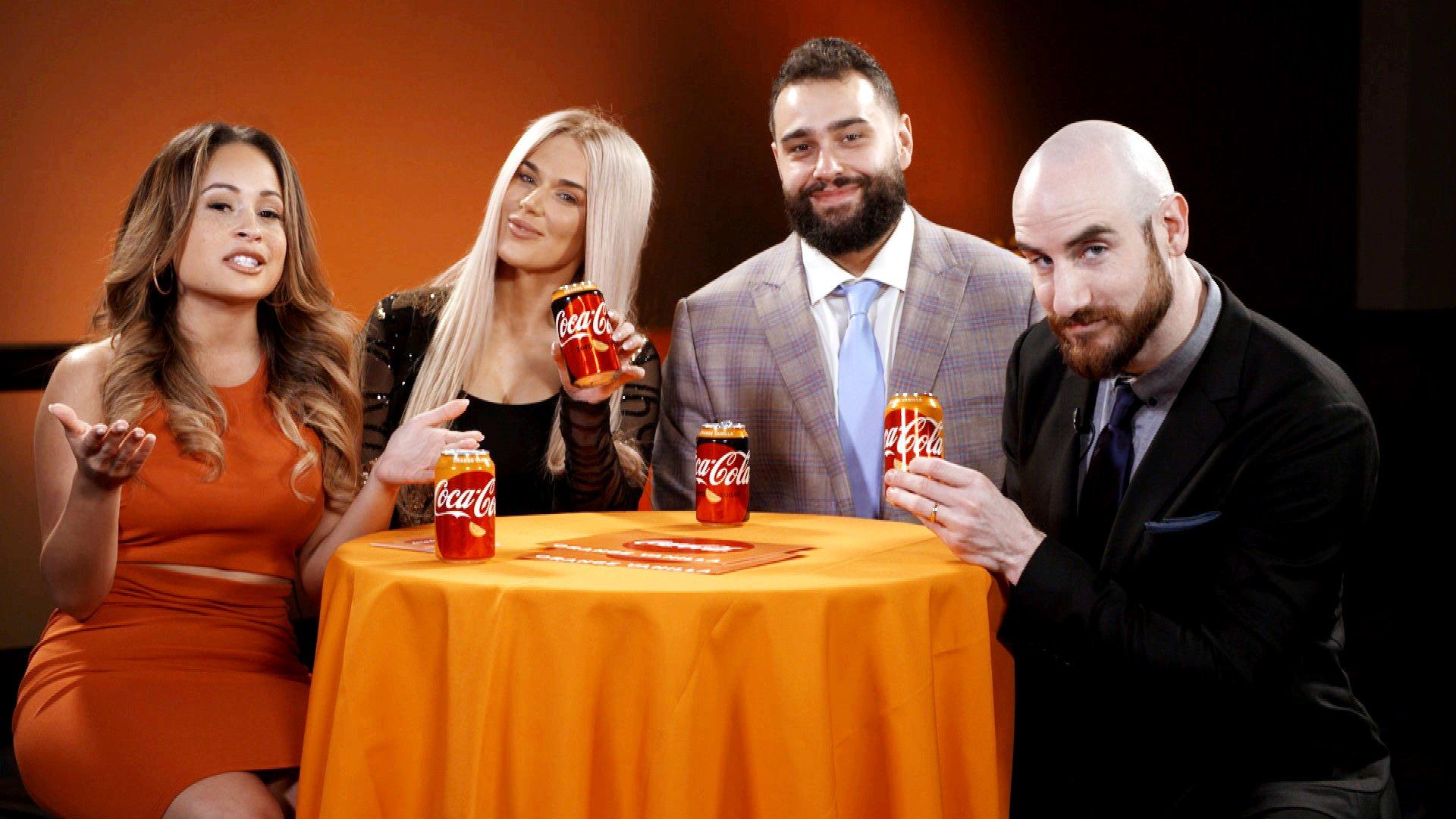 Rusev Day réunis pour parler de leurs équipes préférées: WWE and Orange Vanilla Coke Perfect Pairings