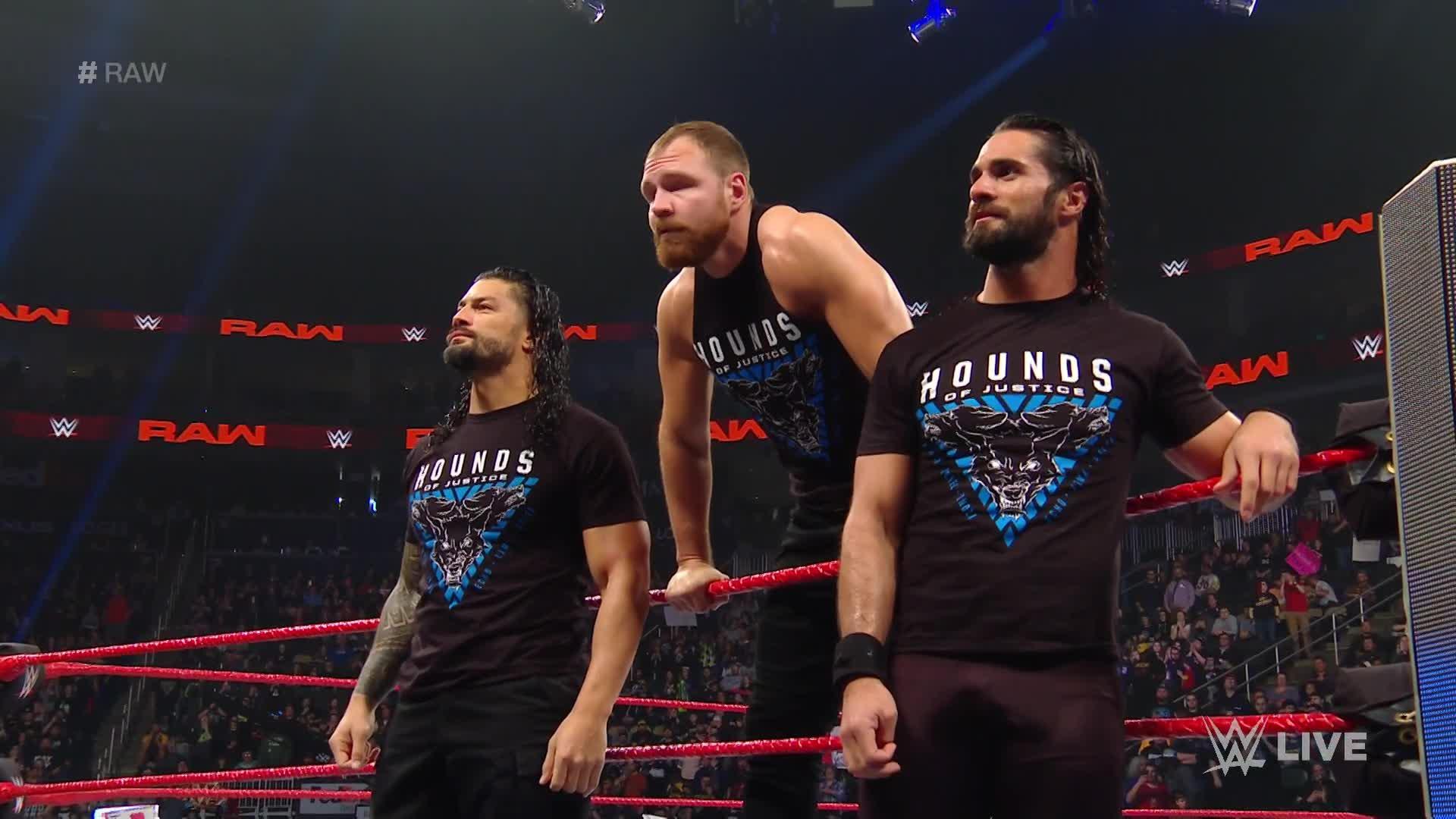 The Shield font leur entrée une dernière fois: Raw, 11 Mars 2019