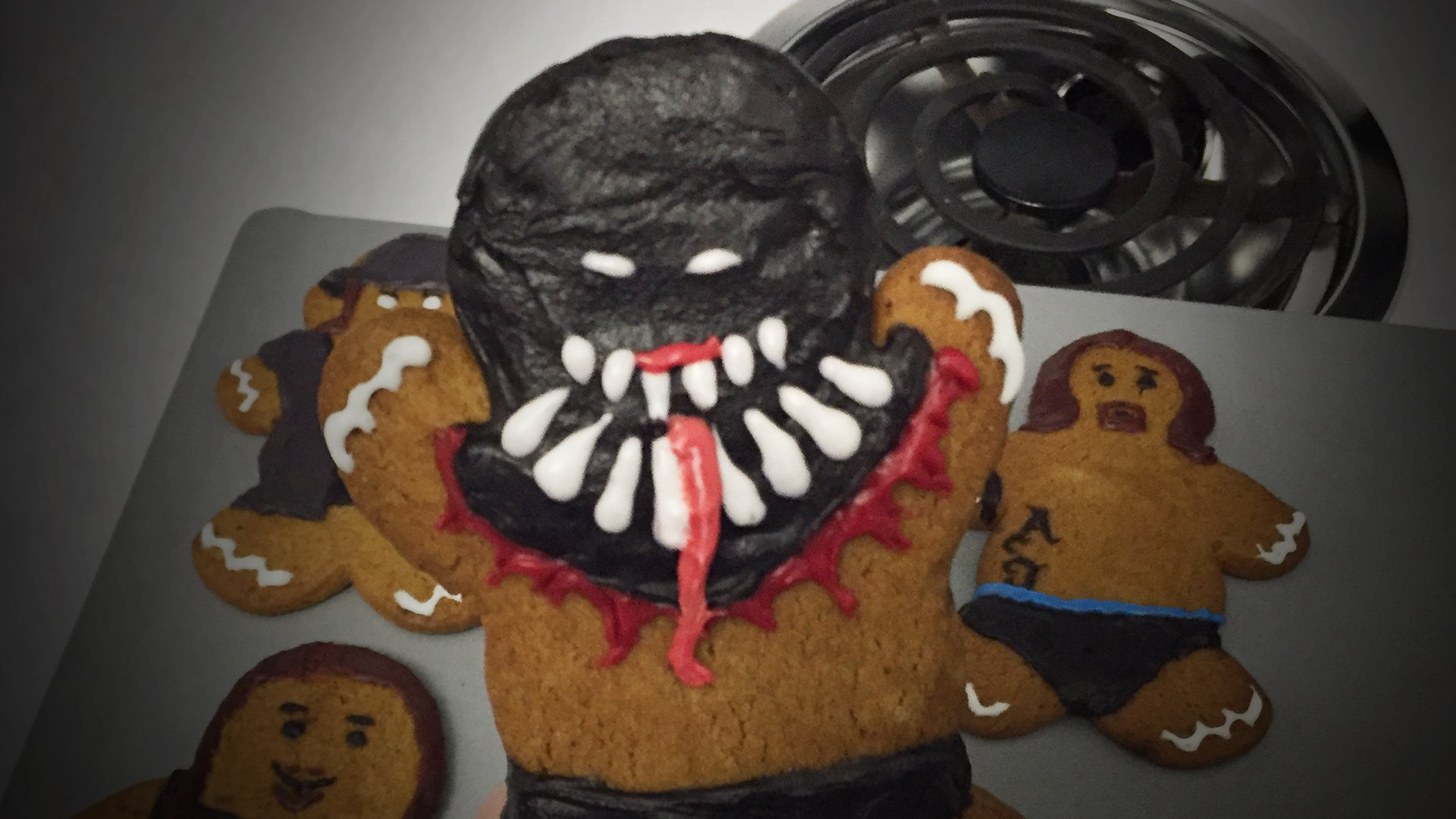 084dd75c3e4b How to create your own WWE Superstar gingerbread men