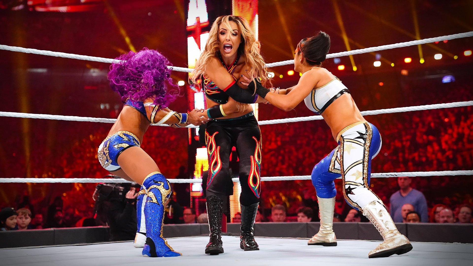 Le chaos règne dans le Match Fatal 4-Way pour les Titres Femmes par Équipes de la WWE: WrestleMania 35 (Exclusivité WWE Network)