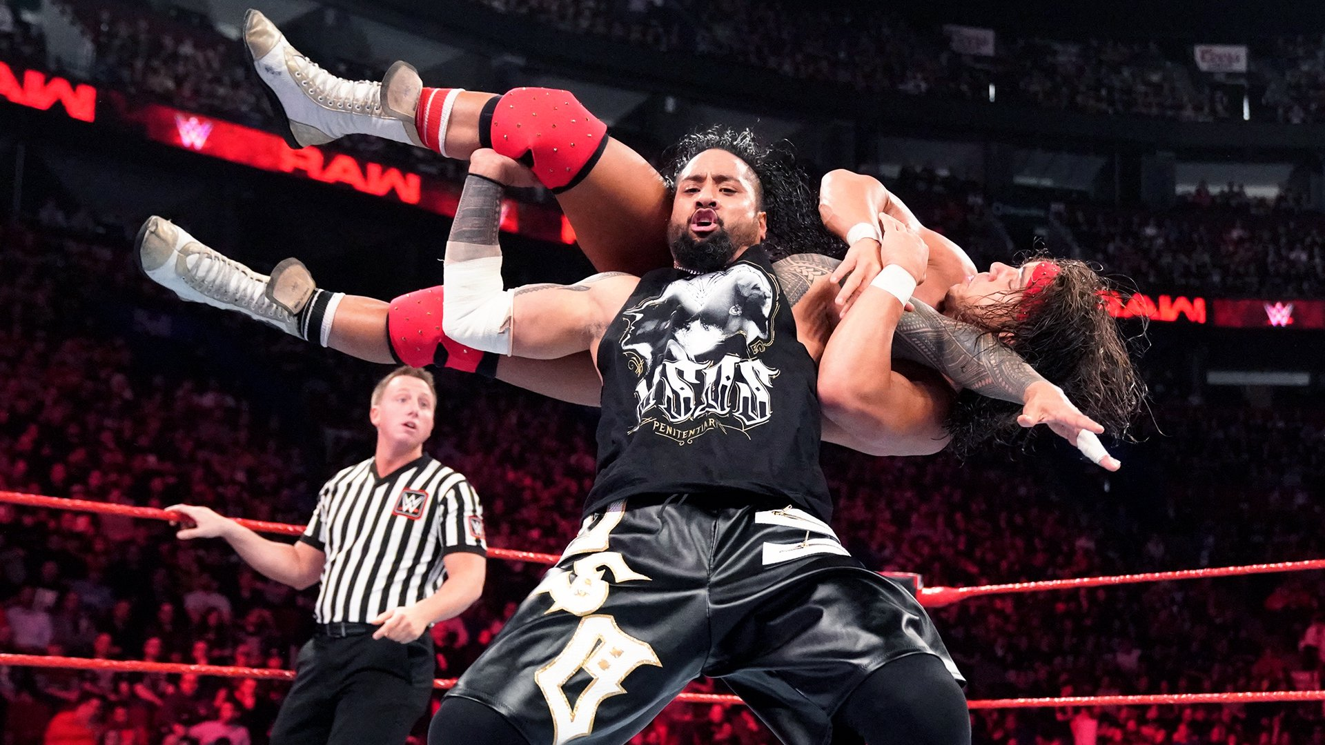 The Usos vs. Bobby Roode & Chad Gable: Raw, 15 Avril 2019