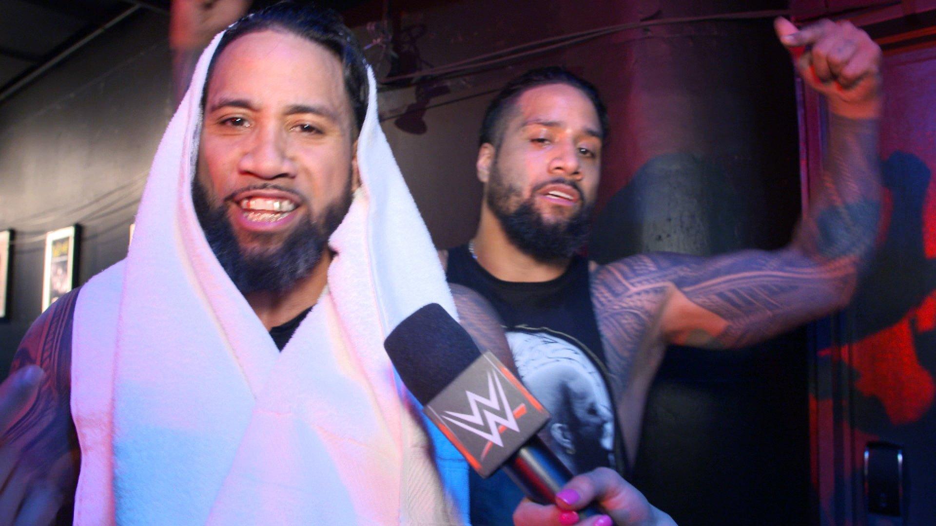 The Usos sont prêts à diriger la division par Équipes de Raw: Exclusivité WWE.fr, 15 Avril 2019
