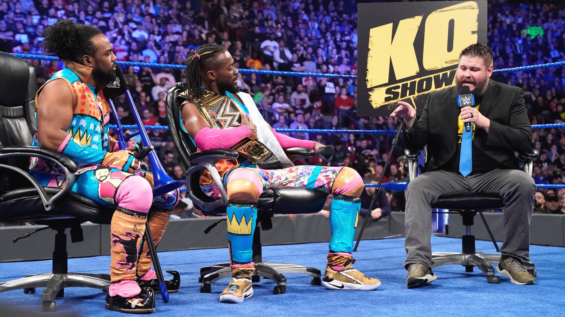 Kevin Owens veut rejoindre The New Day: SmackDown LIVE, 16 Avril 2019