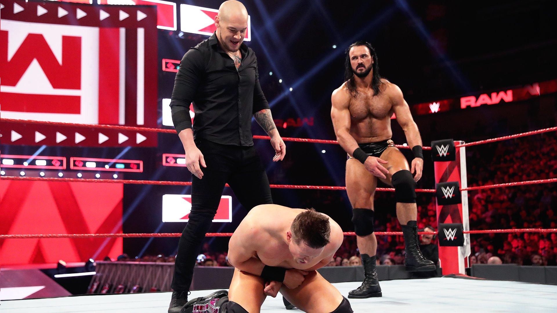 The Miz vs. Drew McIntyre vs. Baron Corbin: Raw, 22 Avril 2019