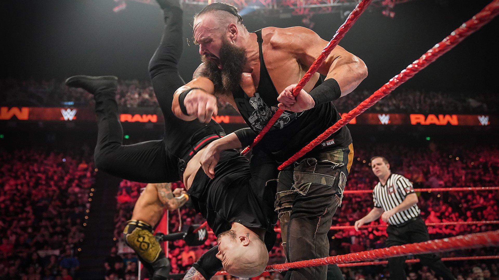 Braun Strowman & Ricochet vs. Drew McIntyre & Baron Corbin: Raw, 29 Avril 2019