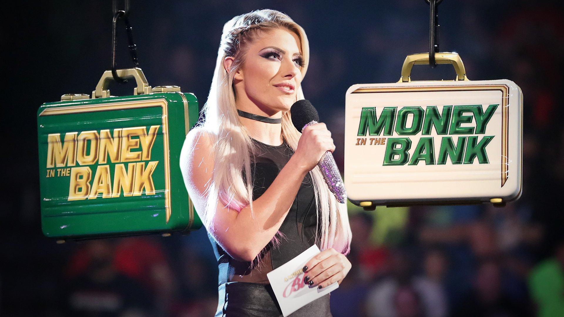Alexa Bliss dévoile les Superstars Hommes de Raw du Match de l'échelle Money in the Bank: Raw, 29 Avril 2019