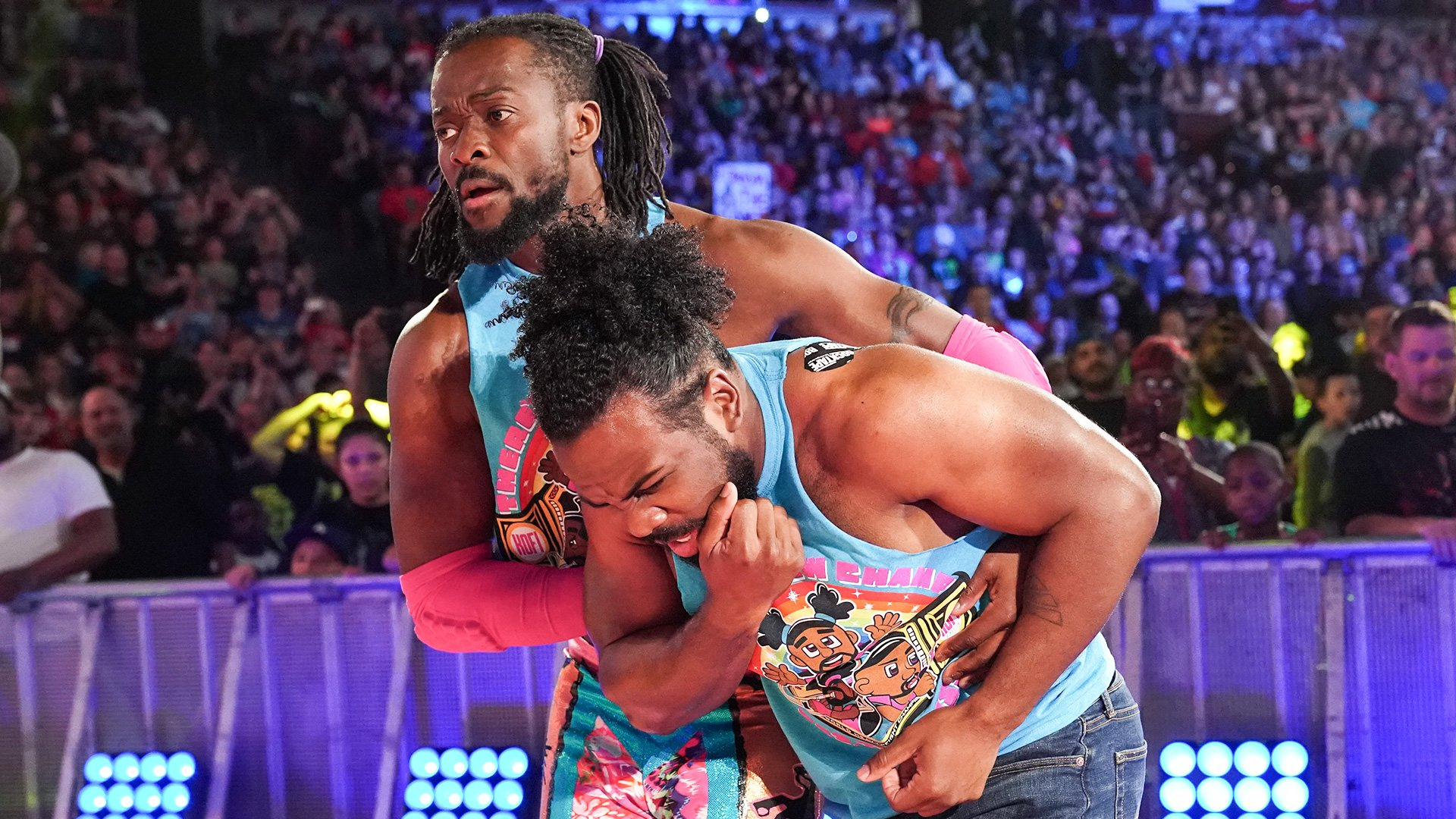 Kevin Owens attaque Xavier Woods: SmackDown LIVE, 30 Avril 2019