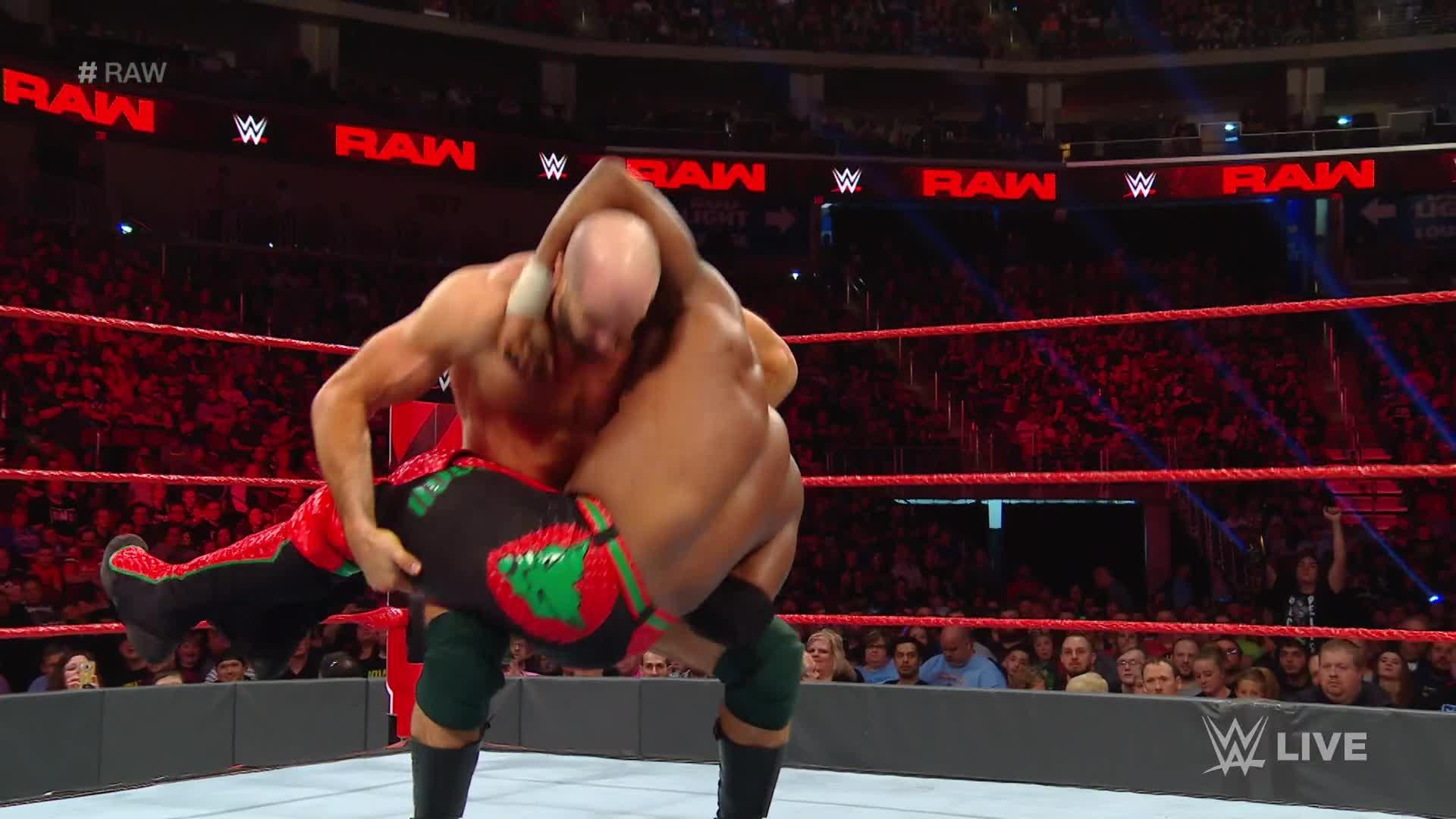 Cedric Alexander vs. Cesaro: Raw, 22 Avril 2019