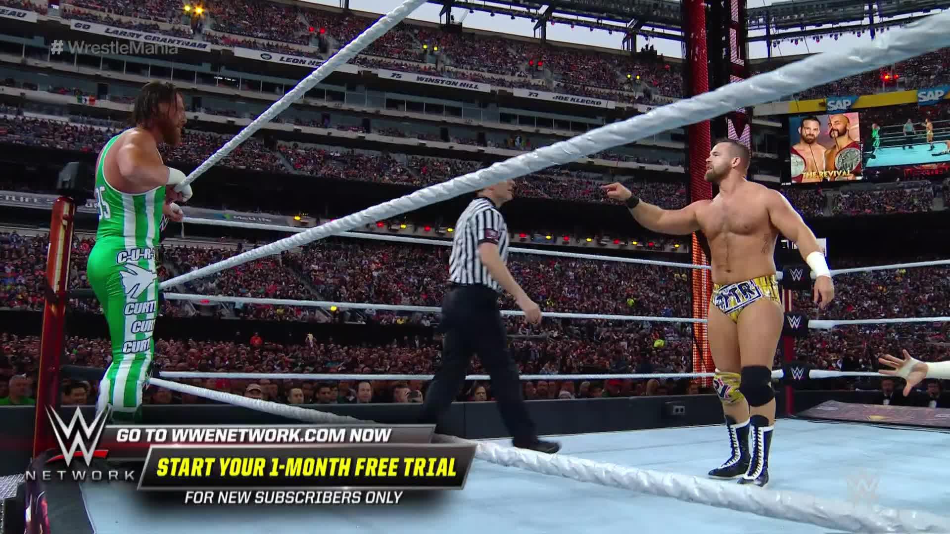 Curt Hawkins veut stopper sa série de 269 défaites consécutives dans le Match pour les Titres par Équipes de Raw: WrestleMania 35 Kickoff