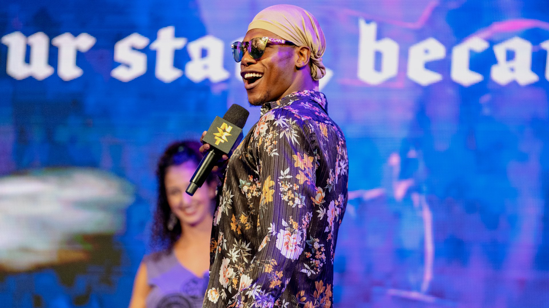 Velveteen Dream chante sa propre version de l'hymne national: WWE NXT, 1er Mai 2019