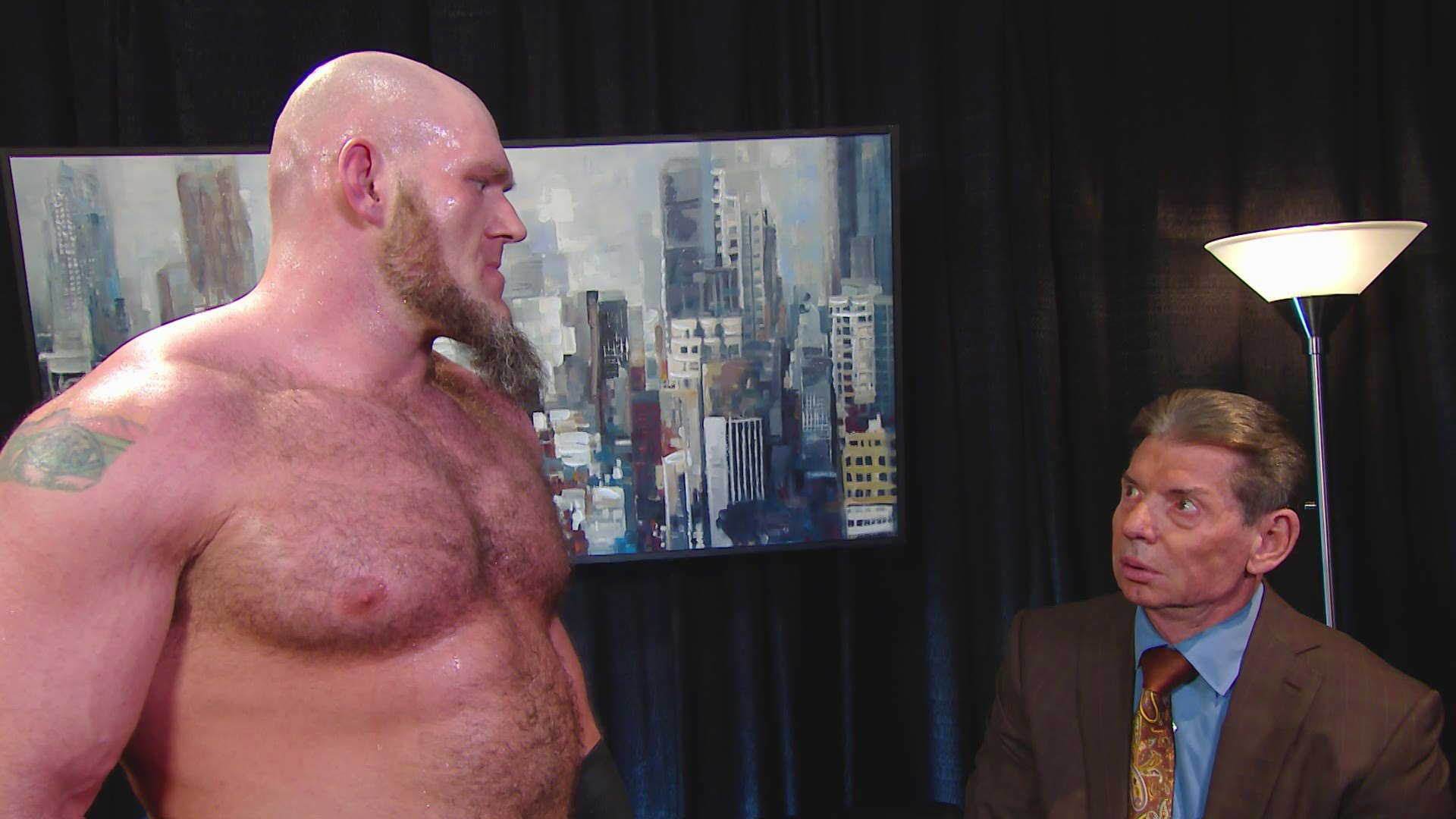 """Lars Sullivan persuade Mr. McMahon de changer la """"Règle Wild Card"""": Raw, 6 Mai 2019"""
