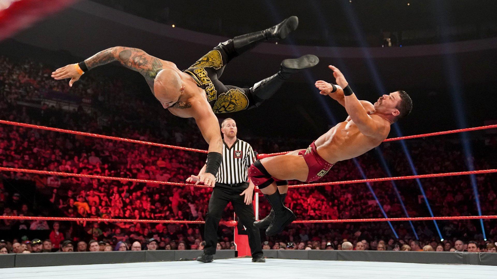 Ricochet vs. Robert Roode – Le Vainqueur avance dans le Match de l'échelle Money in the Bank: Raw, 6 Mai 2019