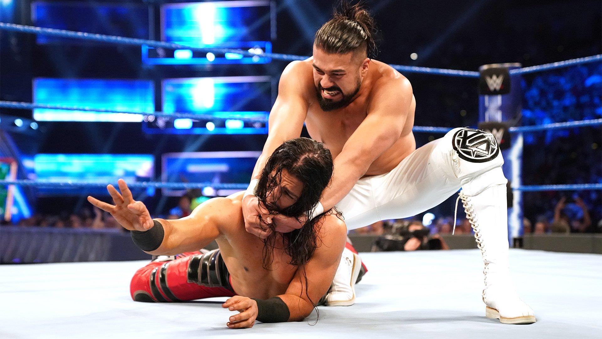 Ali vs. Andrade: SmackDown LIVE, 7 Mai 2019