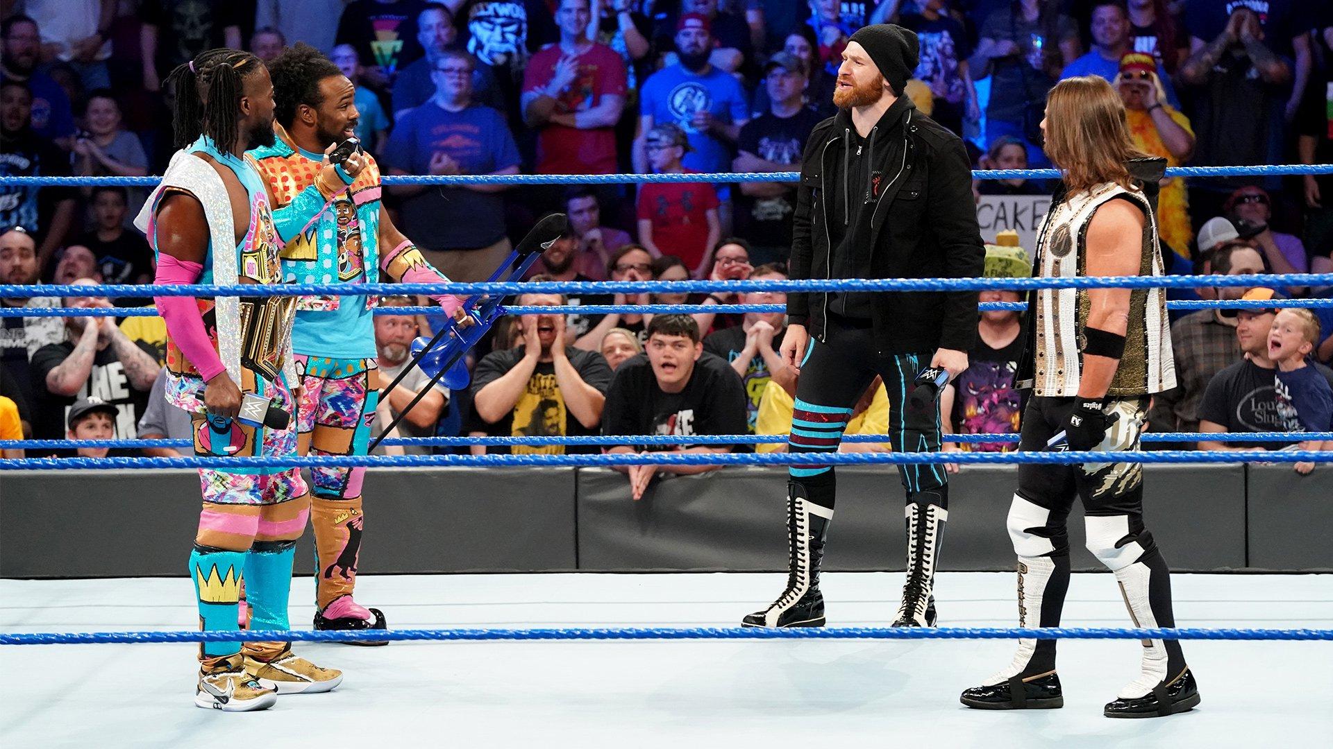 "AJ Styles & Sami Zayn profitent de la ""Règle Wild Card"": SmackDown LIVE, 7 Mai 2019"