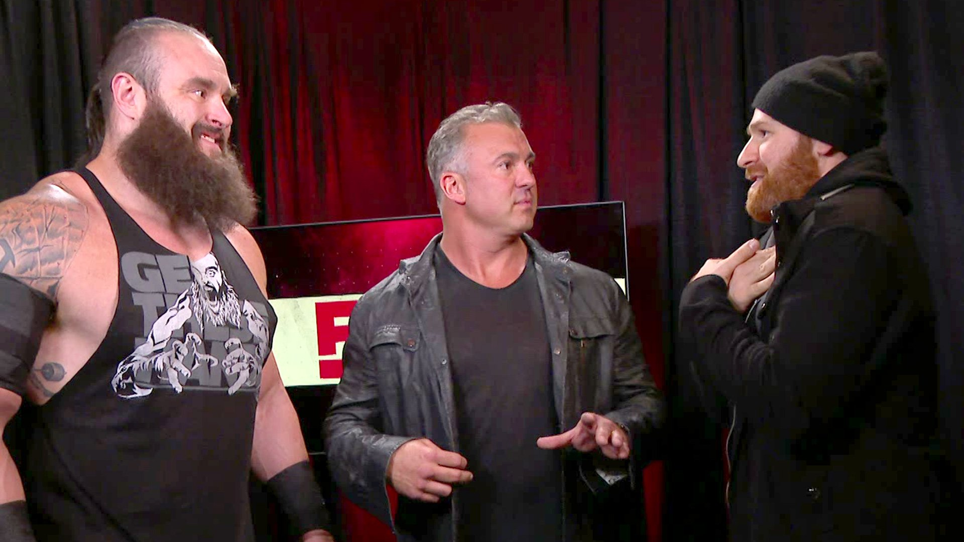 Strowman et Zayn se rencontrent dans un Match Falls Count Anywhere: Raw, 13 Mai 2019