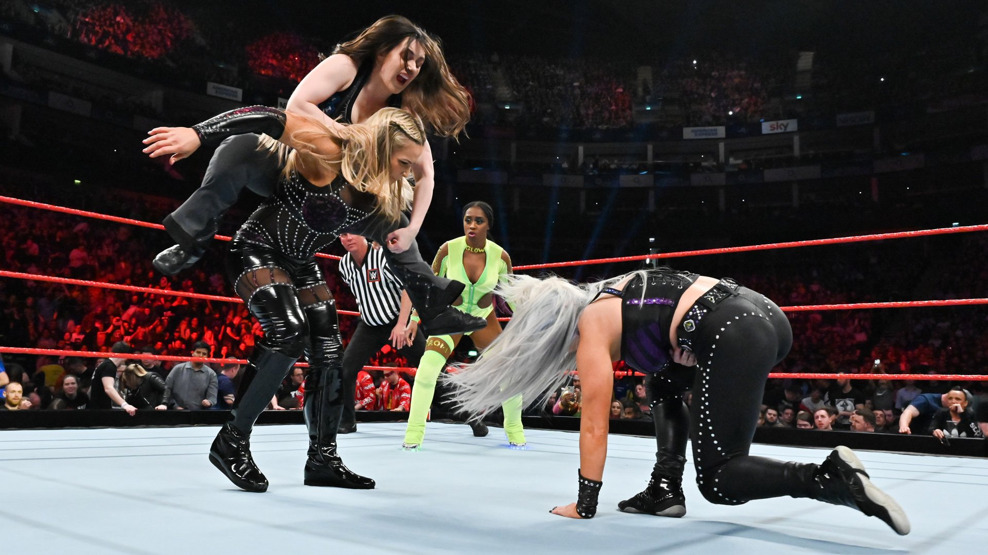 Natalya vs. Naomi vs. Nikki Cross vs. Dana Brooke: Raw, 13 Mai 2019