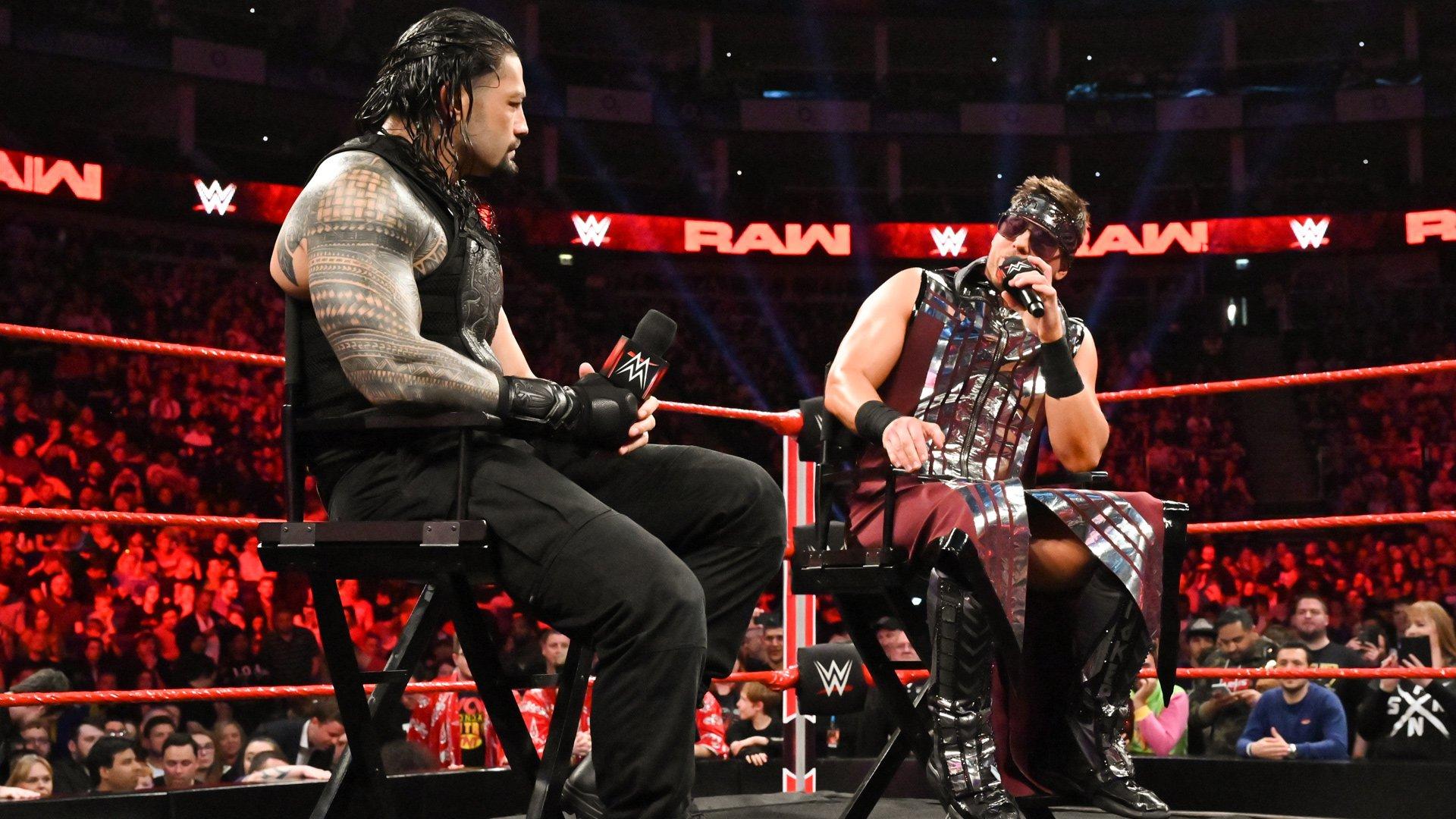 Resultado de imagen para Roman Reigns Sami zayn
