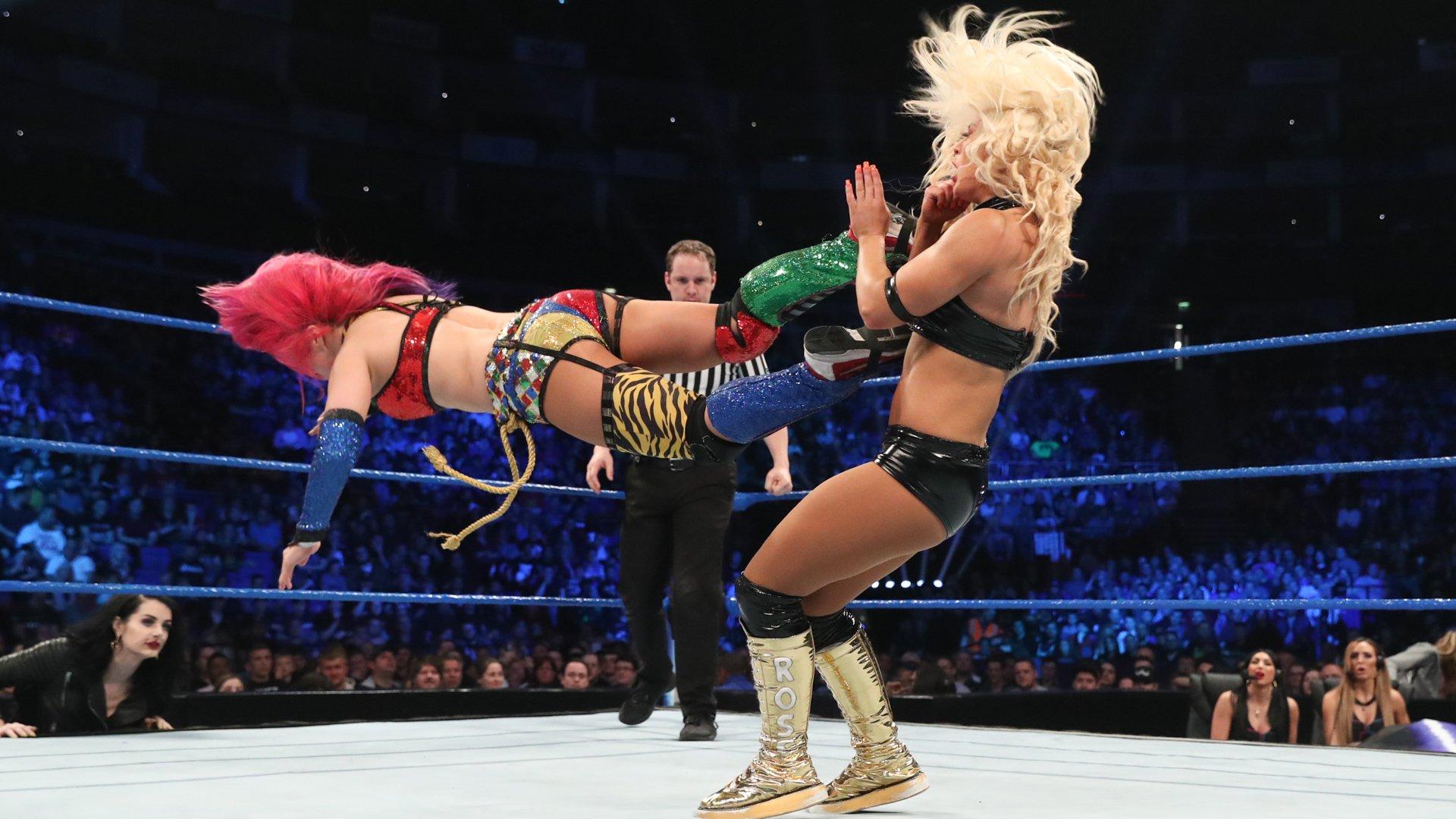 The Kabuki Warriors vs. Mandy Rose & Sonya Deville: SmackDown LIVE, 14 Mai 2019