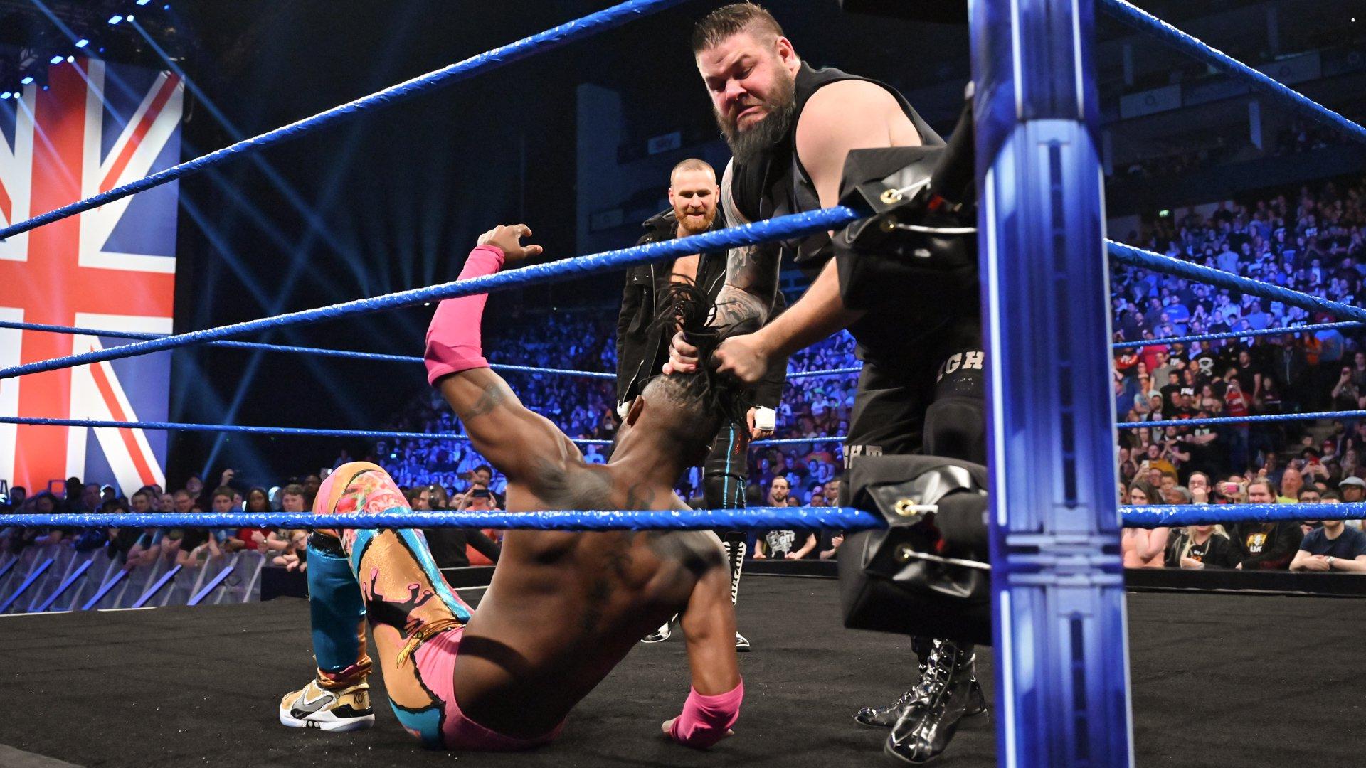 Kevin Owens & Sami Zayn piègent Kofi Kingston: SmackDown LIVE, 14 Mai 2019