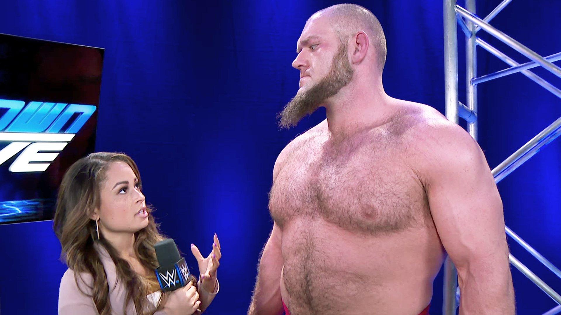 Lars Sullivan continue son chemin de destruction: SmackDown LIVE, 14 Mai 2019