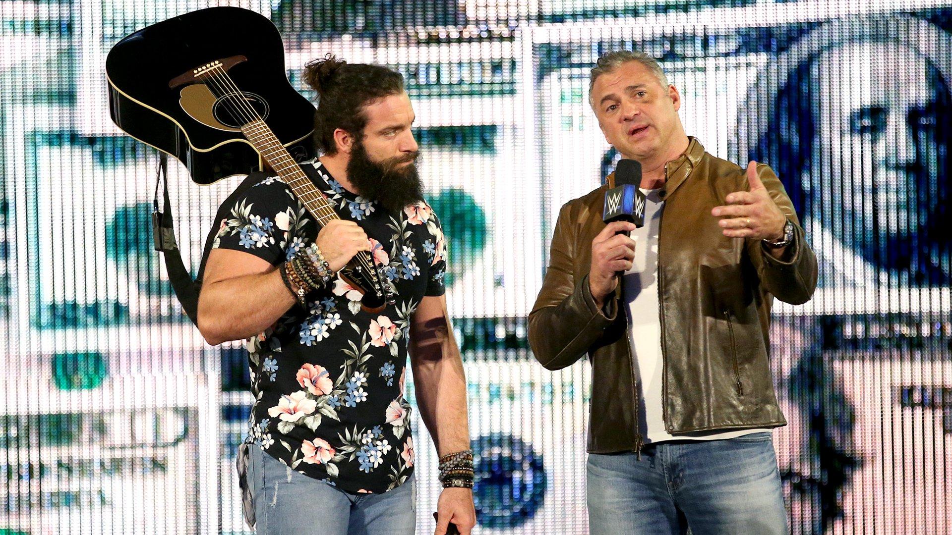 Shane McMahon fausse les chiffres contre Roman Reigns & The Usos: SmackDown LIVE, 14 Mai 2019